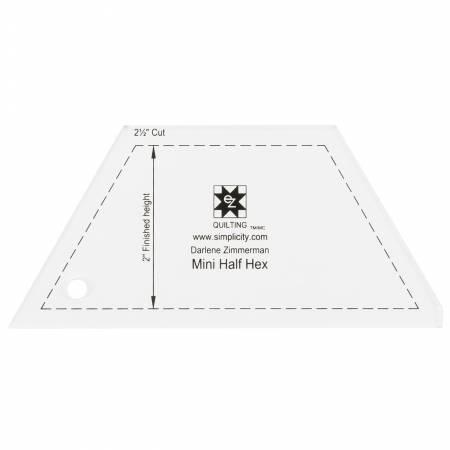 EZ Mini Half Hexagon