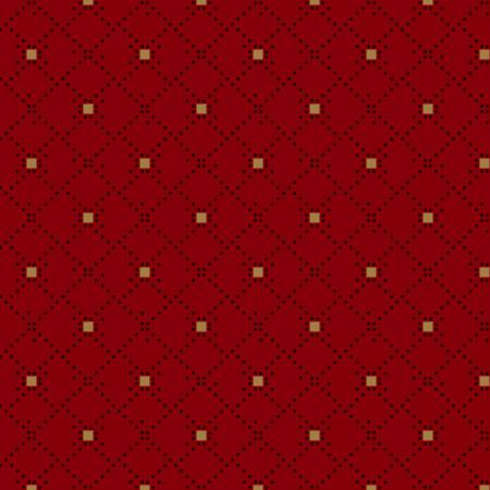Berries & Blossoms - Red Diamond Geo