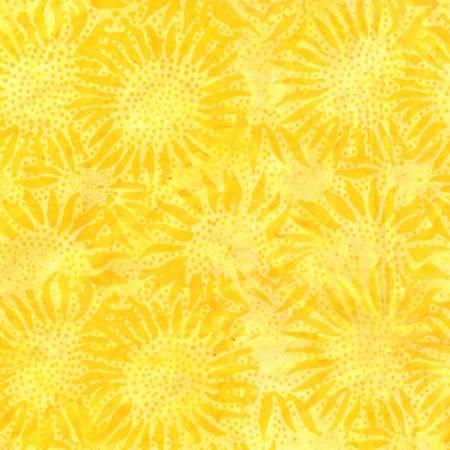 Hoffman Handpainted Bali Batik, Sun