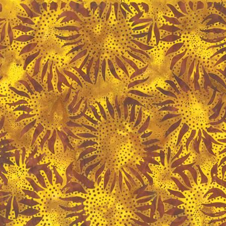 Bali Chop, Sunflower, Gold Ochre