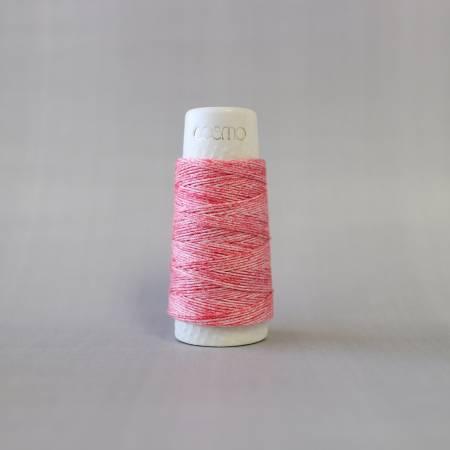 Cosmo Hidamari Sashiko Variegated Thread 30 Meters Strawberry Milk