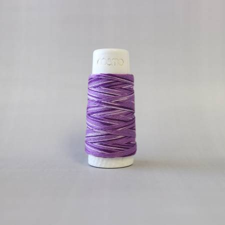 Cosmo Hidamari Sashiko Variegated Thread 30 Meters Blueberry Yogurt 403