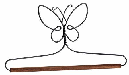 6in Butterfly Holder With Dowel