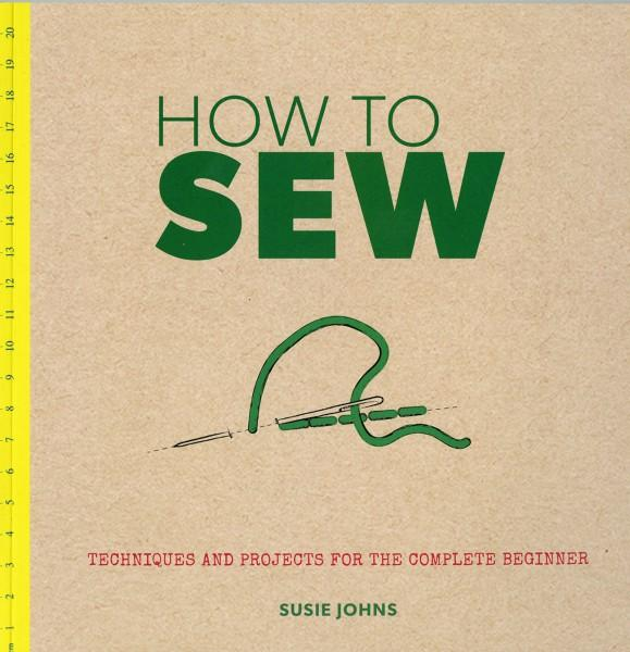 How To Sew - Softcover
