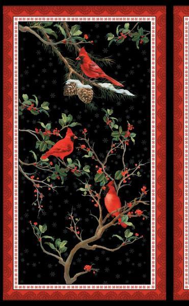 Wilmington Prints The Cardinal Rule Fabric Panel