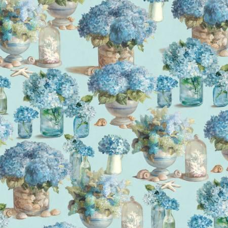 Coastal Bliss Floral Blue