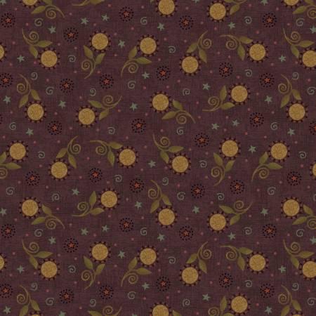 Purple Tossed Sunflowers