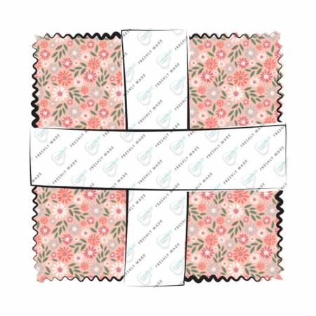 Wish for Rain : 5 Charms - (42) 5x5 squares - Puck Selders