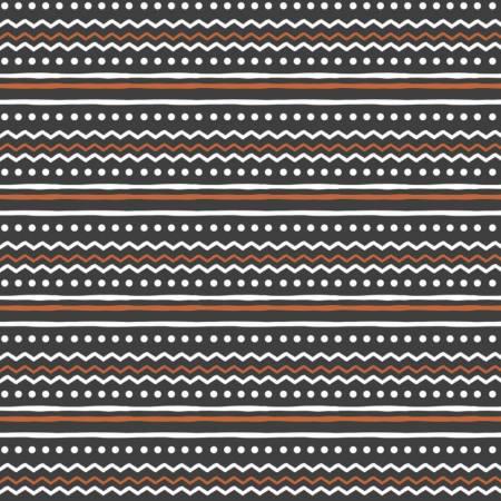 Penguin Paradise Nordic Stripe BLACK