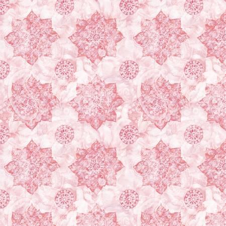 Wild Blush - Medallions - Pink  - 89221-313