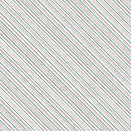 Homemade Happiness Cream Diagonal Stripe