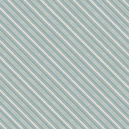 Homemade Hapiness - Grey Diagonal Stripe