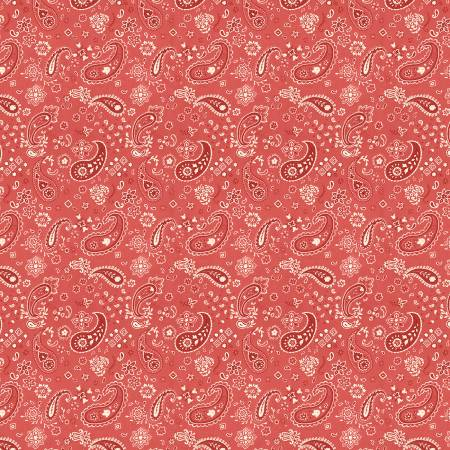 Homemade Happiness Red Paisley