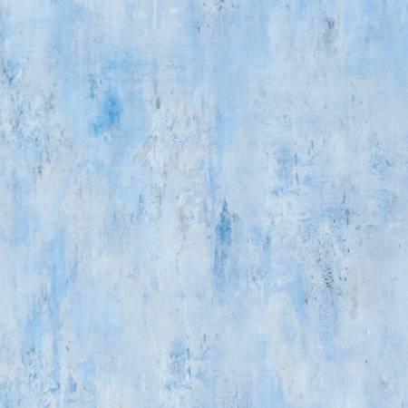 Vintage Texture Sky Blue by Wilmington Prints