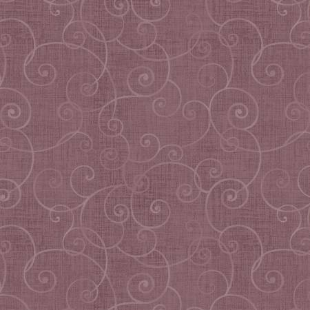 Fabric Henry Glass Light Plum Swirl