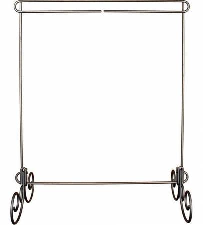 12 x 14 Table Stand with No Header and Removable Legs - Silver