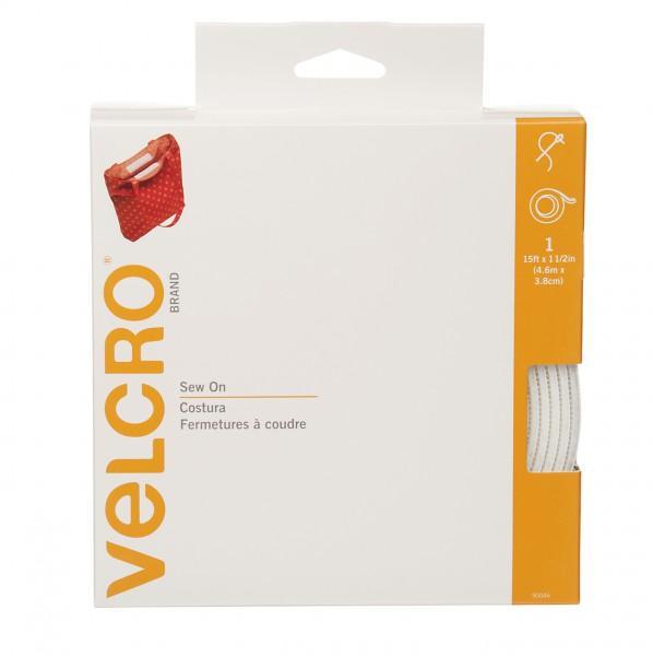 Velcro brand Regular Duty Tape White 1 1/2in x 15ft