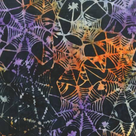 Black Halloween Batik