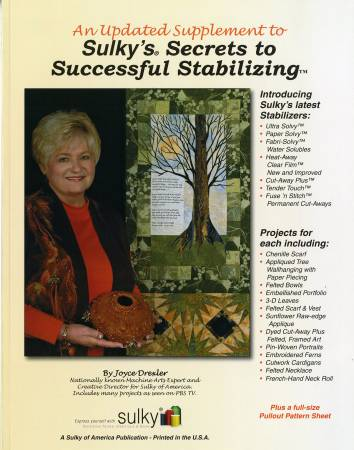 Sulky Secrets to Successful Stablilizing - Supplement
