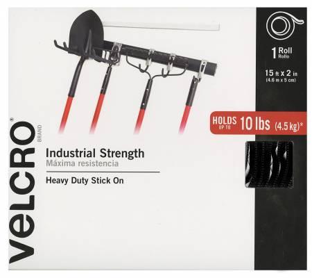 Velcro 2in Black Industrial