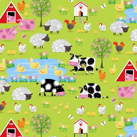 Green Farm Village Scenic