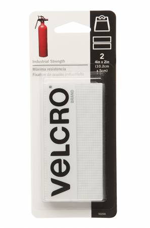 VELCRO? Brand Fastener Industrial Strength Carded White 4in