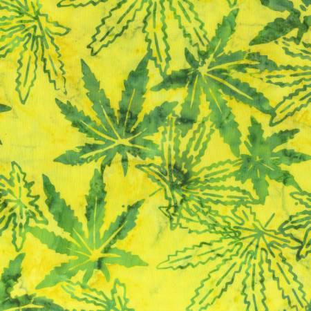 Mary Jane Batik Yellow