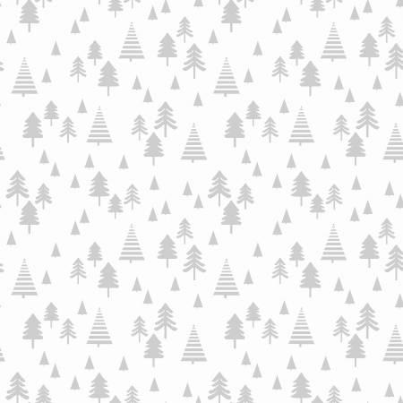 White Small Pine Trees