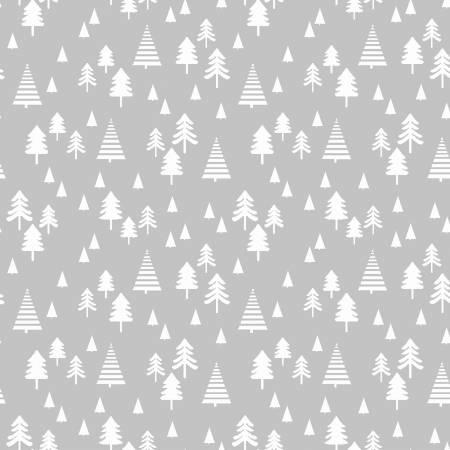 Grey Small Pine Trees