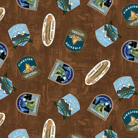 Brown Badge Toss 90515-257