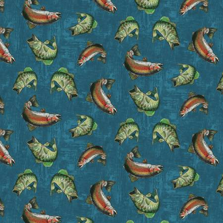 Blue Fish Toss 90516-474