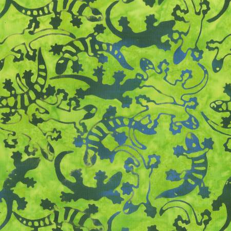 Green Batik Gecko