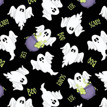 Ghosts Allover Glow in the Dark