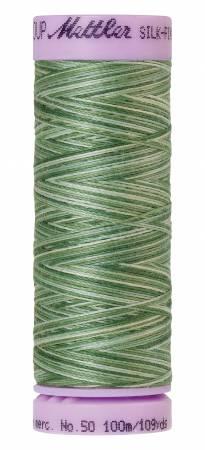 Silk-Finish 50wt Variegated Cotton Thread 109yd/100M Spruce Pines