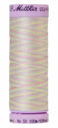 Silk-Finish 50wt Variegated Cotton Thread 109yd/100M Baby Blanket