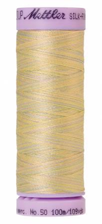 Silk Finish Cotton 50wt 109 yards Palest Pastels