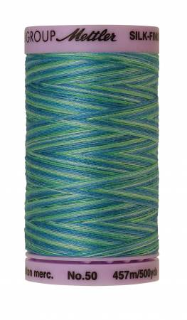 Silk Finish Cotton 50wt 500 yards Seaspray