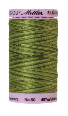 Silk-Finish 50wt Variegated Cotton Thread 500yd/457M Ferns