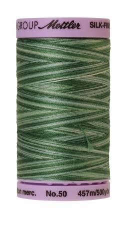 Silk-Finish 50wt Variegated Cotton Thread 500yd/457M Spruce Pines
