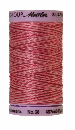 Silk Finish Cotton 50wt 500 yards Cranberry Crush