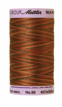 Silk-Finish 50wt Variegated Cotton Thread 500yd/457M Chocolatte