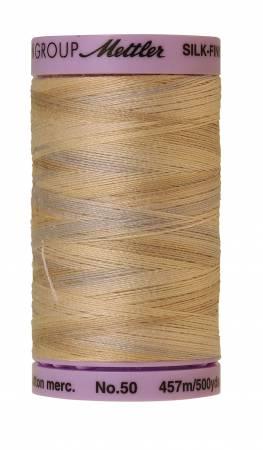 Mettler-Silk Finish 50wt Variegated Cotton Thread 500yd/457M Pearl Tones/9085-9854