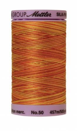 Silk-Finish 50wt Variegated Cotton Thread 500yd/457M Falling Leaves