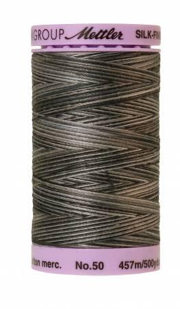 Silk Finish Cotton 50wt 500 yards Charcoal