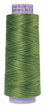 Silk Finish Variegated 50wt Cotton Thread 1500yd/1372M Ferns