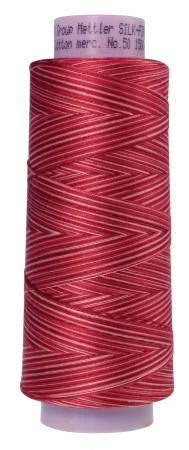 Silk Finish Variegated 50wt Cotton Thread 1500yd/1372M Terra Tones