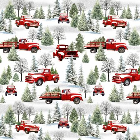Grey/Red Scenic Trucks 9099-86 Holiday Heartland