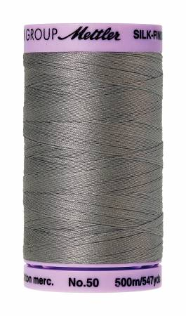 0322-Rain Cloud, Mettler, Silk-Finish 50wt Solid Cotton Thread