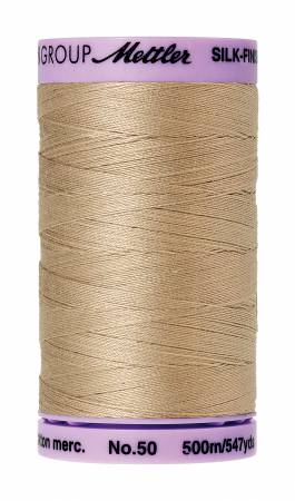 Mettler Silk-Finish Cotton Thread 500M Straw