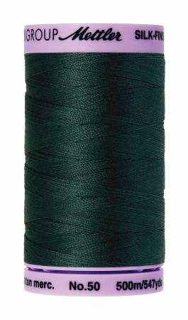 Silk-Finish 50wt Solid Cotton Thread 547yd/500M Bayberry #0655